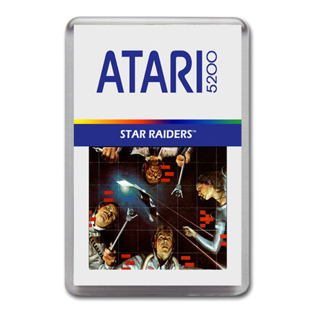 Star Raiders 2 - Atari-5200 Game Inspired Retro Gaming Magnet