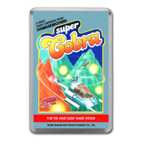Super Cobra 2 - Atari-5200 Game Inspired Retro Gaming Magnet
