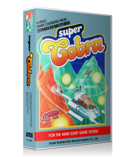 Atari 5200 Super Cobra 2 Game Cover To Fit A UGC Style Replacement Game Case