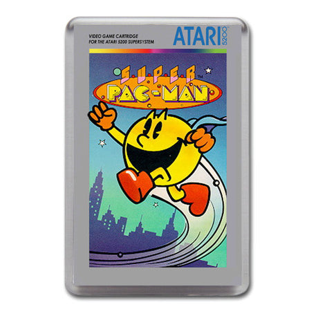 Super Pacman - Atari-5200 Game Inspired Retro Gaming Magnet