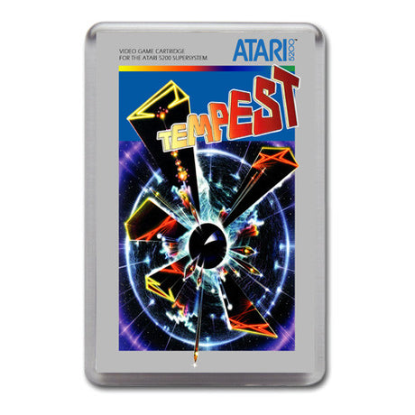 Tempest 2 - Atari-5200 Game Inspired Retro Gaming Magnet