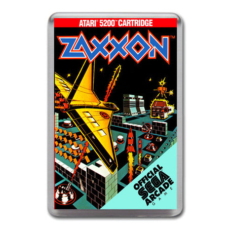 Zaxxon 2 - Atari-5200 Game Inspired Retro Gaming Magnet