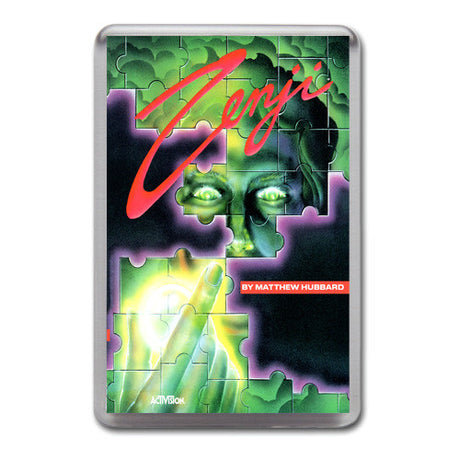 Zenji 3 - Atari-5200 Game Inspired Retro Gaming Magnet