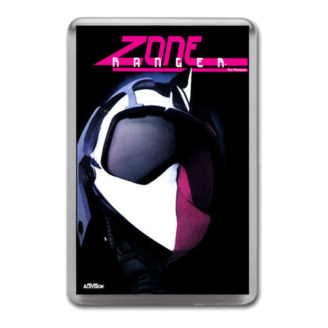 Zone Ranger 4 - Atari-5200 Game Inspired Retro Gaming Magnet