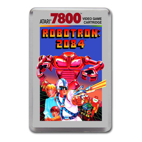 Robotron 2084 - Atari 7800 Game Inspired Retro Gaming Magnet