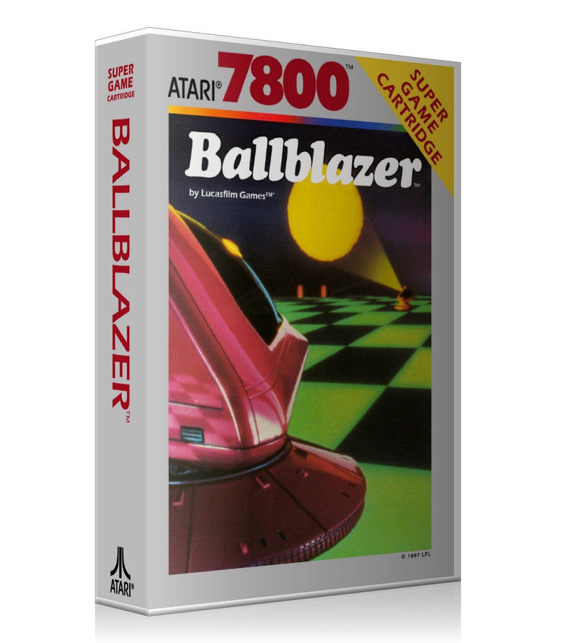 Atari 7800 Ball Blazer 2 Game Cover To Fit A UGC Style Replacement Game Case