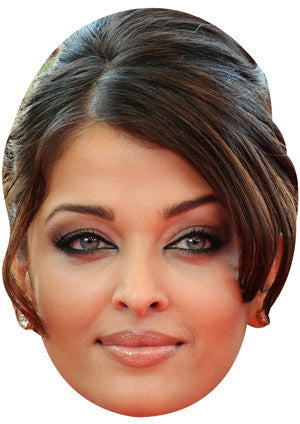 Aishwarya Rai Bachchan Celebrity Face Mask FANCY DRESS HEN BIRTHDAY PARTY FUN STAG DO HEN