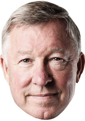 Alex Ferguson Celebrity Face Mask FANCY DRESS HEN BIRTHDAY PARTY FUN STAG DO HEN