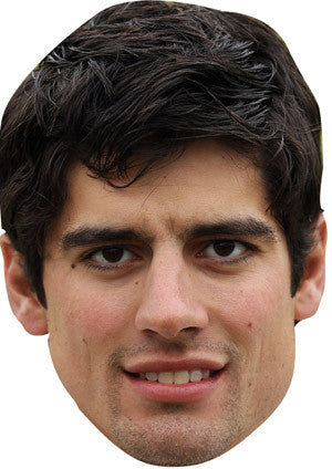 Alistair Cook Celebrity Face Mask FANCY DRESS HEN BIRTHDAY PARTY FUN STAG DO HEN