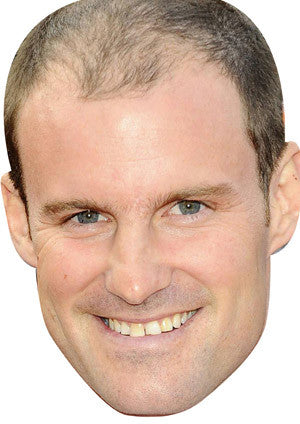 Andrew Strauss Celebrity Face Mask FANCY DRESS HEN BIRTHDAY PARTY FUN STAG DO HEN