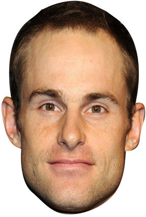Andy Roddick  TENNIS Celebrity Face Mask FANCY DRESS HEN BIRTHDAY PARTY FUN STAG DO HEN