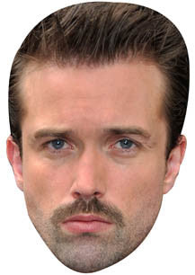 Brendan Brady Mask Hollyoaks Face Mask TV STAR Celebrity Face Mask FANCY DRESS HEN BIRTHDAY PARTY FUN STAG DO