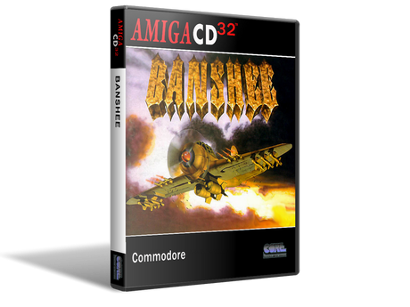 Amiga CD32 Banshee Cover Or Case