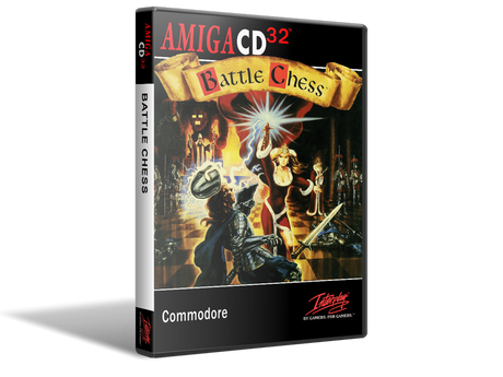 Amiga CD32 Battle Chess Cover Or Case