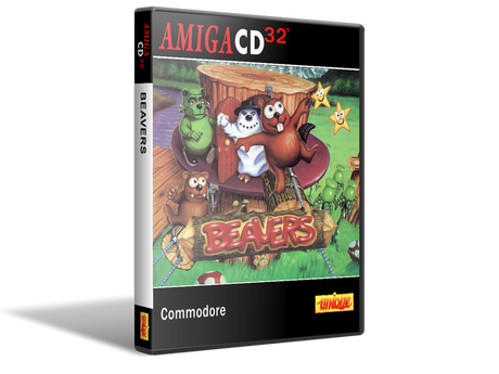 Amiga CD32 Beavers Cover Or Case