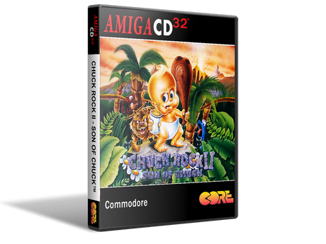 Amiga CD32 Chuck Rock 2 Cover Or Case