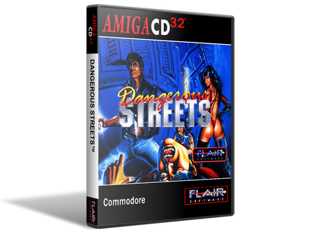 Amiga CD32 Dangerous Streets Cover Or Case