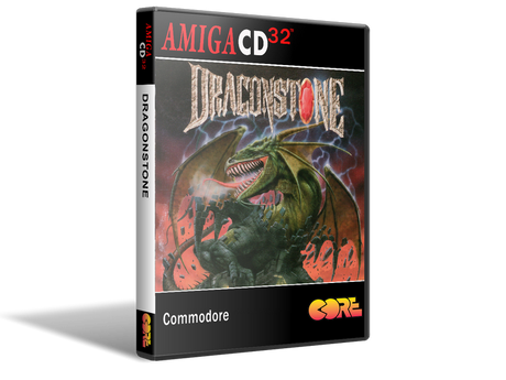 Amiga CD32 Dragon Stone Cover
