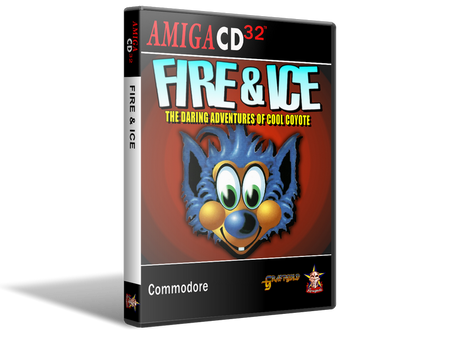 Amiga CD32 Fire & Ice Cover