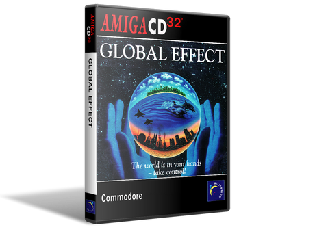 Amiga CD32 Global Effect Cover