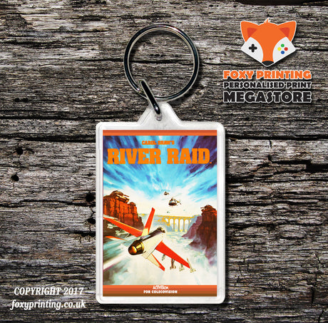 Coleco River Raid - Game Inspired Retro Gaming Keyring