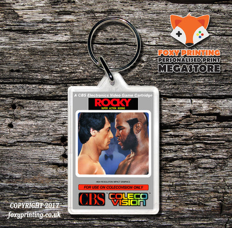 Coleco Rocky - Game Inspired Retro Gaming Keyring
