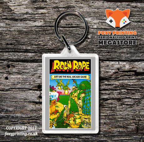 Coleco Roc N Rope None - Game Inspired Retro Gaming Keyring