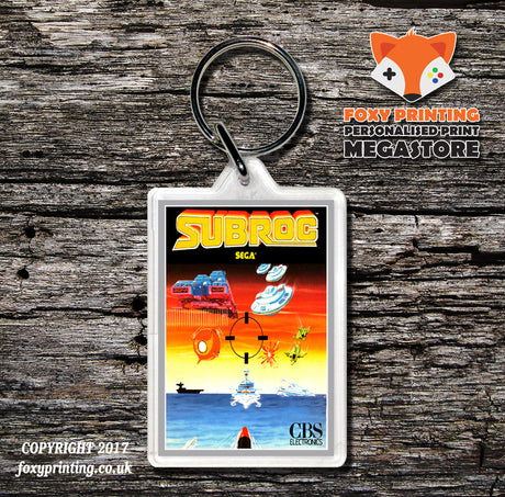 Coleco Subroc Gb - Game Inspired Retro Gaming Keyring