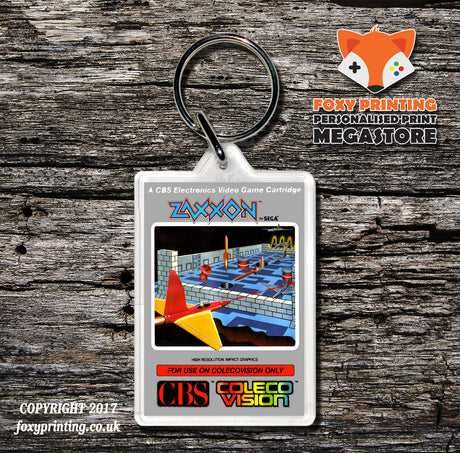 Coleco Zaxxon Au - Game Inspired Retro Gaming Keyring