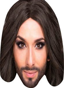 Conchita Wurst Eurovision Music Face Mask