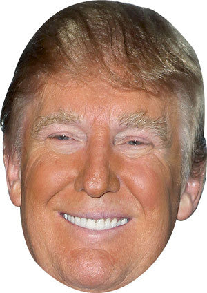 Donald Trump Celebrity Face Mask FANCY DRESS HEN BIRTHDAY PARTY FUN STAG DO HEN