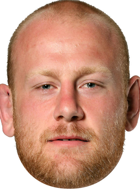 England Rugby Player Dan Cole Celebrity Face Mask FANCY DRESS HEN BIRTHDAY PARTY FUN STAG DO HEN