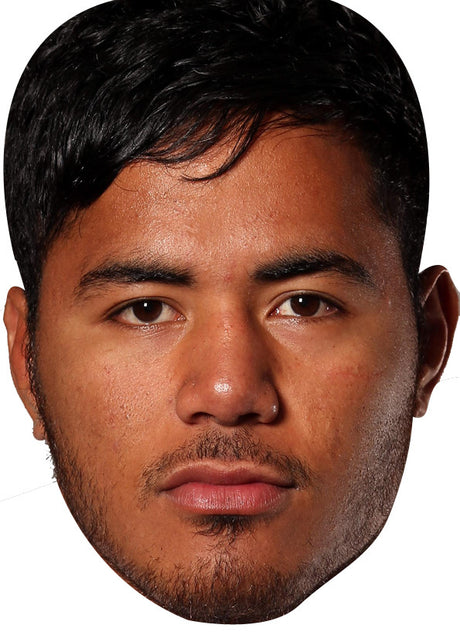 England Rugby Player Manusamoa Tuilagi Celebrity Face Mask FANCY DRESS HEN BIRTHDAY PARTY FUN STAG DO HEN