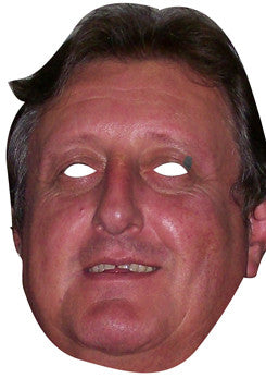Eric Bristow DARTS Celebrity Face Mask FANCY DRESS HEN BIRTHDAY PARTY FUN STAG DO HEN Celebrity Face Mask FANCY DRESS HEN BIRTHDAY PARTY FUN STAG DO HEN