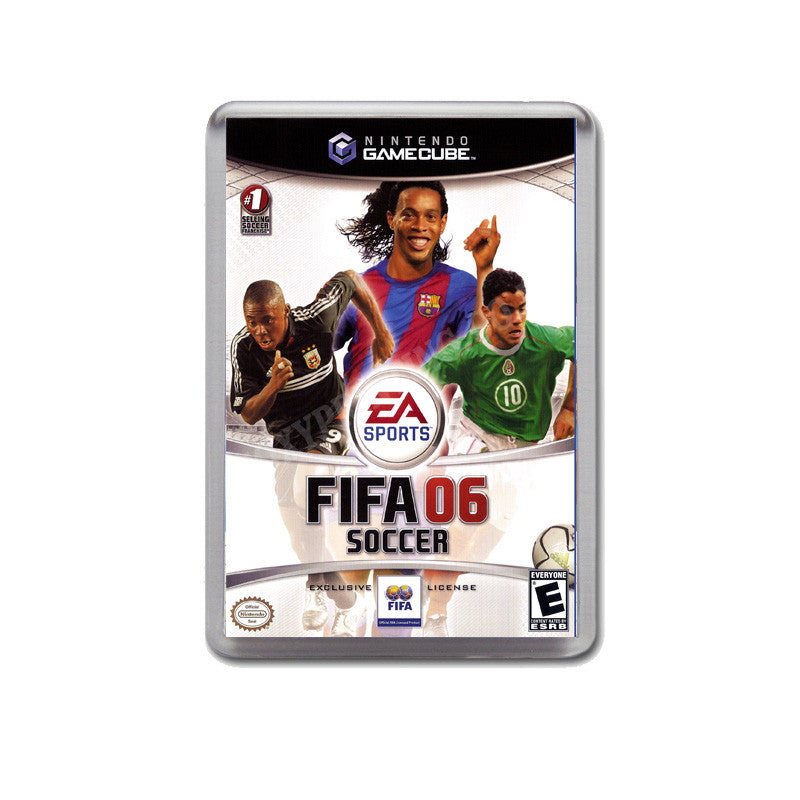 Fifa Soccer 06 Style Inspired Game Gamecube Retro Video Gaming Magnet
