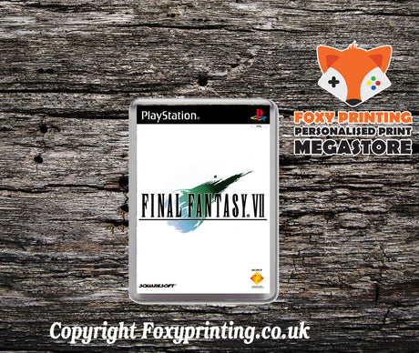Final Fantasy V  - PS1 Game Inspired Retro Gaming Magnet