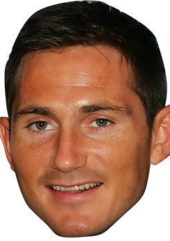Frank Lampard FOOTBALL 2018 Celebrity Face Mask FANCY DRESS HEN BIRTHDAY PARTY FUN STAG DO HEN