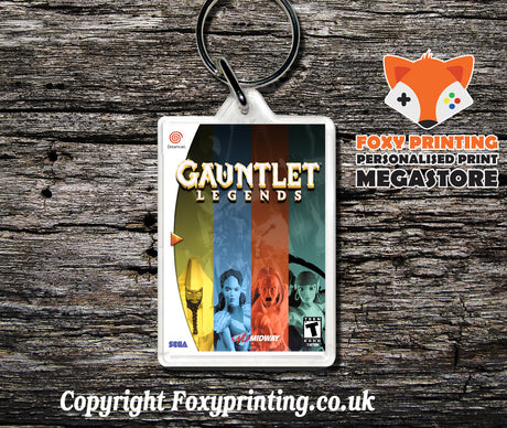 Gauntletlegends - Sega Dreamcast Game Keyring