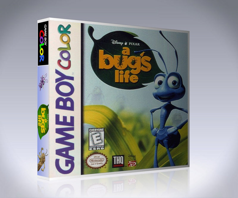 Gameboy Color A Bug's Life Game Cover To Fit A UGC Style Replacement Game Case