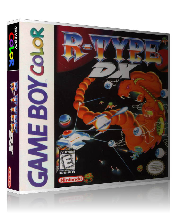 Gameboy Color R Type DX Game Cover To Fit A UGC Style Replacement Case