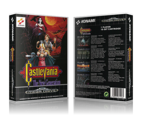 SEGA Genesis Castlevania The New Generation Sega Megadrive REPLACEMENT GAME Case Or Cover