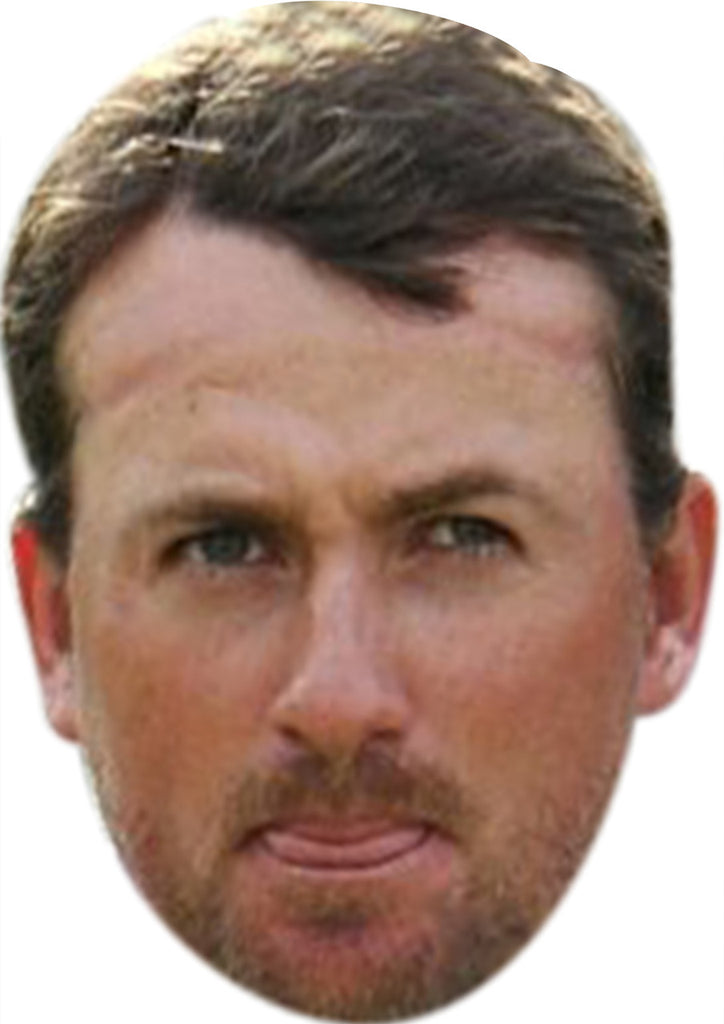 Graeme Mcdowell GOLF 2018 Celebrity Face Mask FANCY DRESS HEN BIRTHDAY PARTY FUN STAG DO HEN