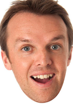 Graeme Swann Celebrity Face Mask FANCY DRESS HEN BIRTHDAY PARTY FUN STAG DO HEN