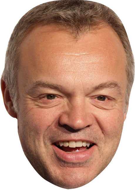 Graham Norton Eurovision Celebrity Face Mask FANCY DRESS HEN BIRTHDAY PARTY FUN STAG DO HEN