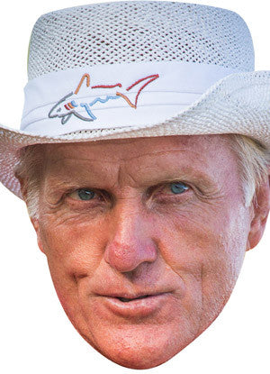 Greg Norman GOLF 2018 Celebrity Face Mask FANCY DRESS HEN BIRTHDAY PARTY FUN STAG DO HEN