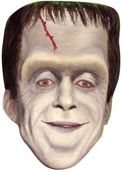 Herman Munster Face Mask Celebrity FANCY DRESS HEN BIRTHDAY PARTY FUN STAG DO HEN