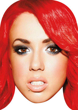 Holly Hagan Celebrity Face Mask FANCY DRESS HEN BIRTHDAY PARTY FUN STAG DO HEN