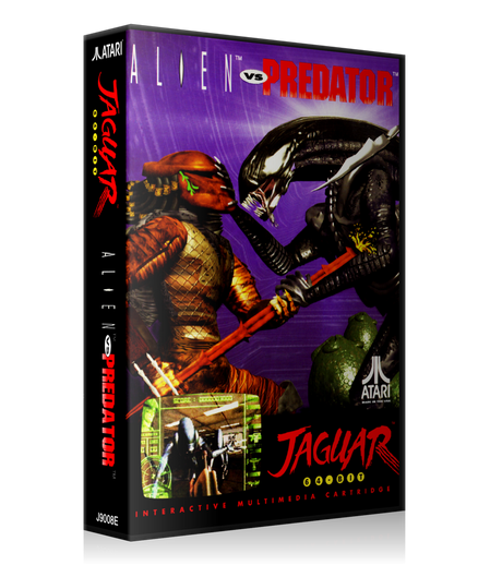 Atari Jaguar Alien Vs Predator Cover