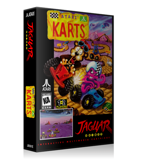 Atari Jaguar Atari Karts Cover Or Case