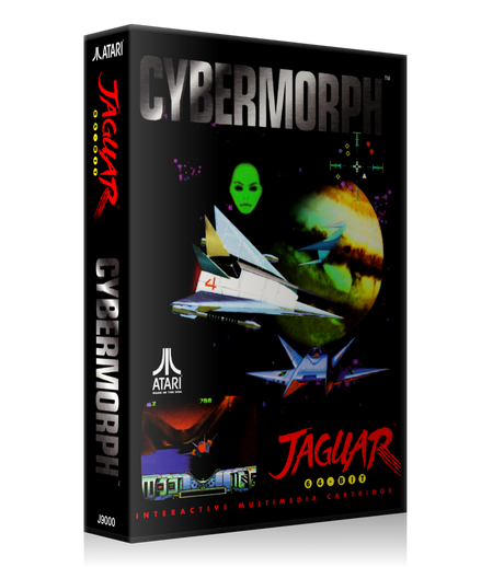 Atari Jaguar Cybermorph Case Or Cover
